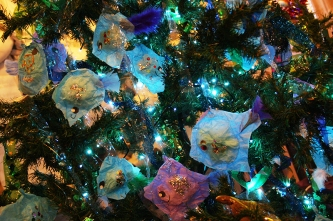 Brightlingsea Christmas Tree Festival 2015 - Highly Commended Children's Category - Christmas Tree Under the Sea by Brightlingsea Infant School